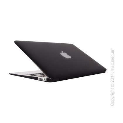 Чехол-накладка Moshi Ultra Slim Case iGlaze Stealth Black (V2) для MacBook Air 11