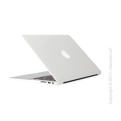 Чехол-накладка Moshi Ultra Slim Case iGlaze Pearl White (V2) для MacBook Air 13
