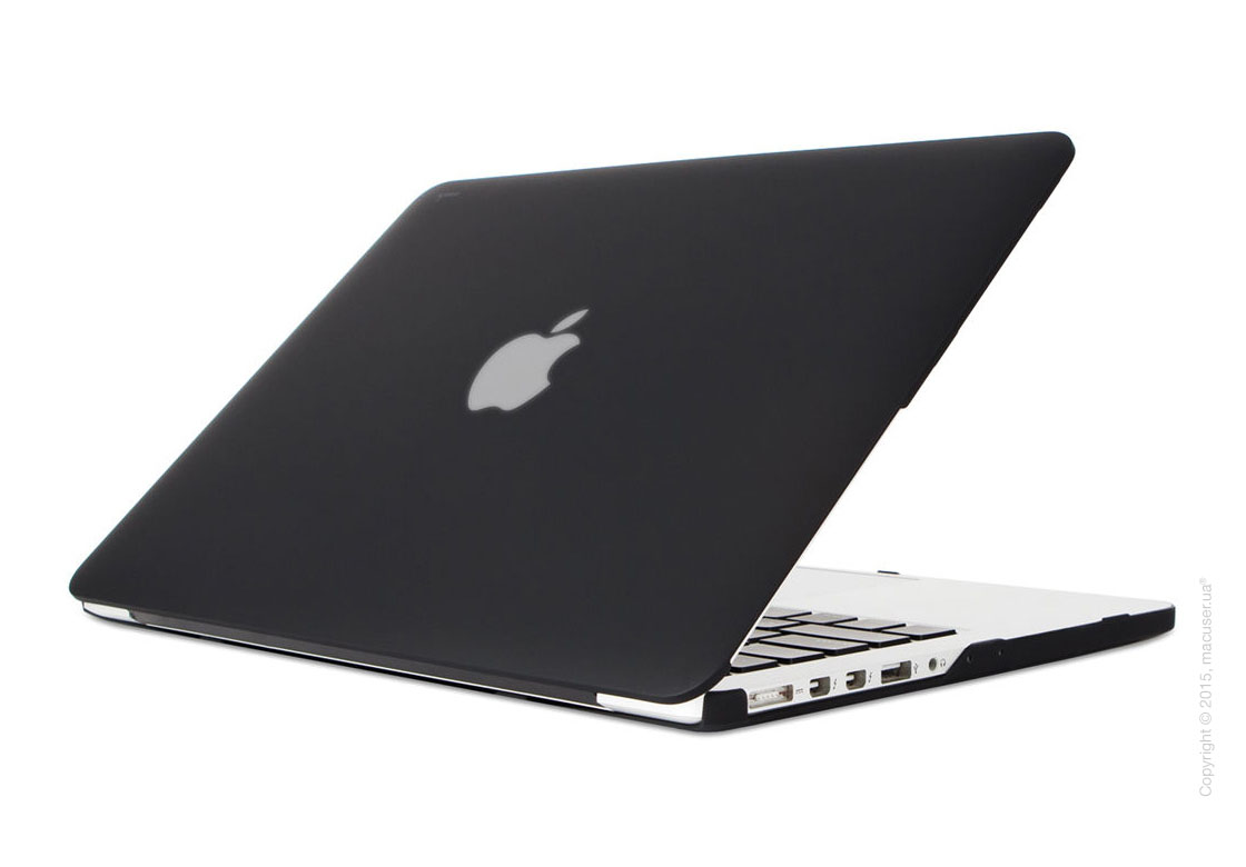 Чехол-накладка Moshi Ultra Slim Case iGlaze Stealth Black (V2) для MacBook Pro 13
