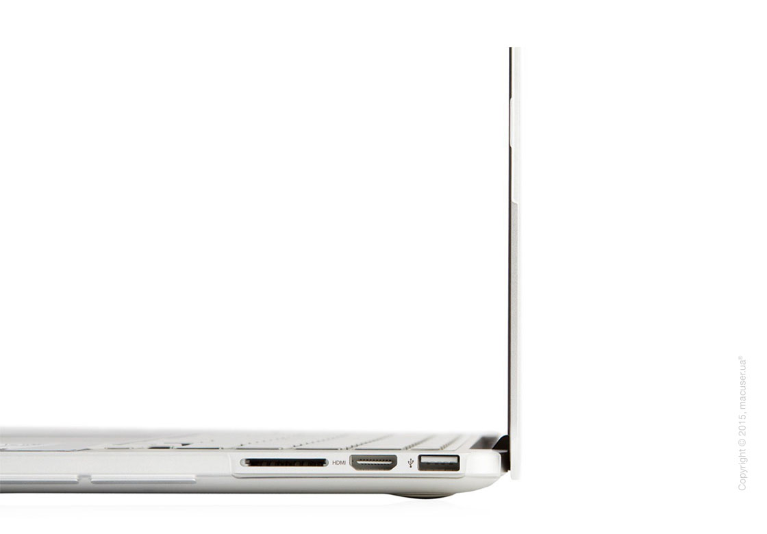 Чехол-накладка Moshi Ultra Slim Case iGlaze Translucent Clear (V2) для MacBook Pro 13