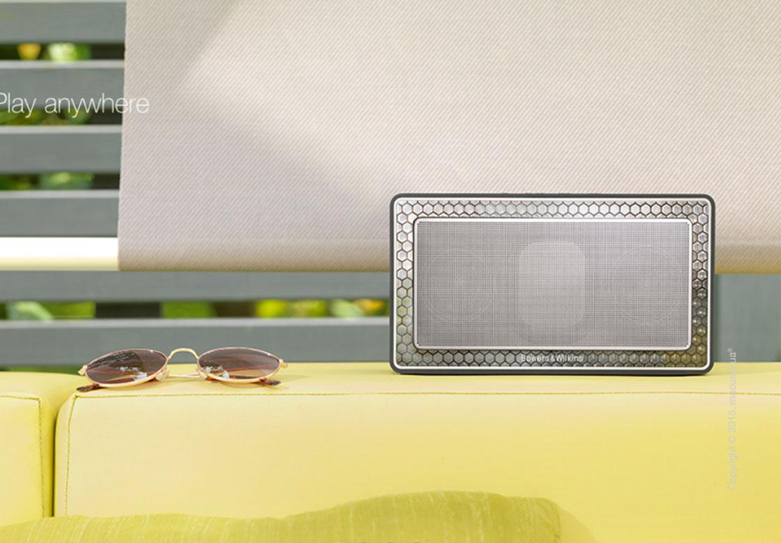 Портативная акустика Bowers & Wilkins T7 Bluetooth Hi-Fi speaker
