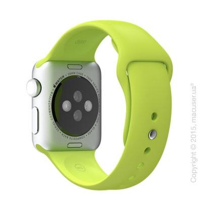 Зелёный спортивный ремешок Green Sport Band 38 mm