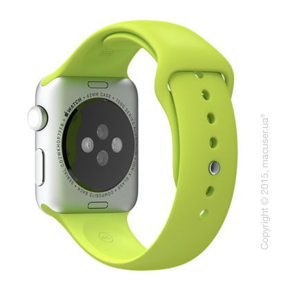 Зелёный спортивный ремешок Green Sport Band 42 mm