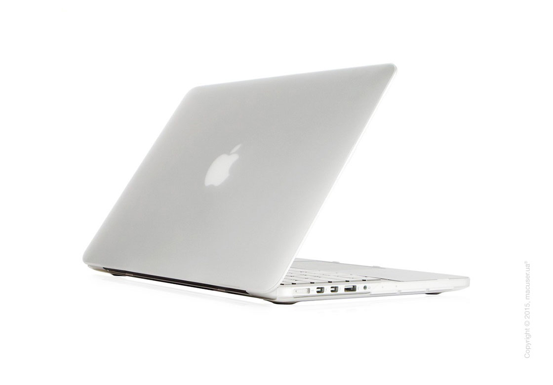 Чехол-накладка Moshi Ultra Slim Case iGlaze Translucent Clear (V2) для MacBook Pro 15