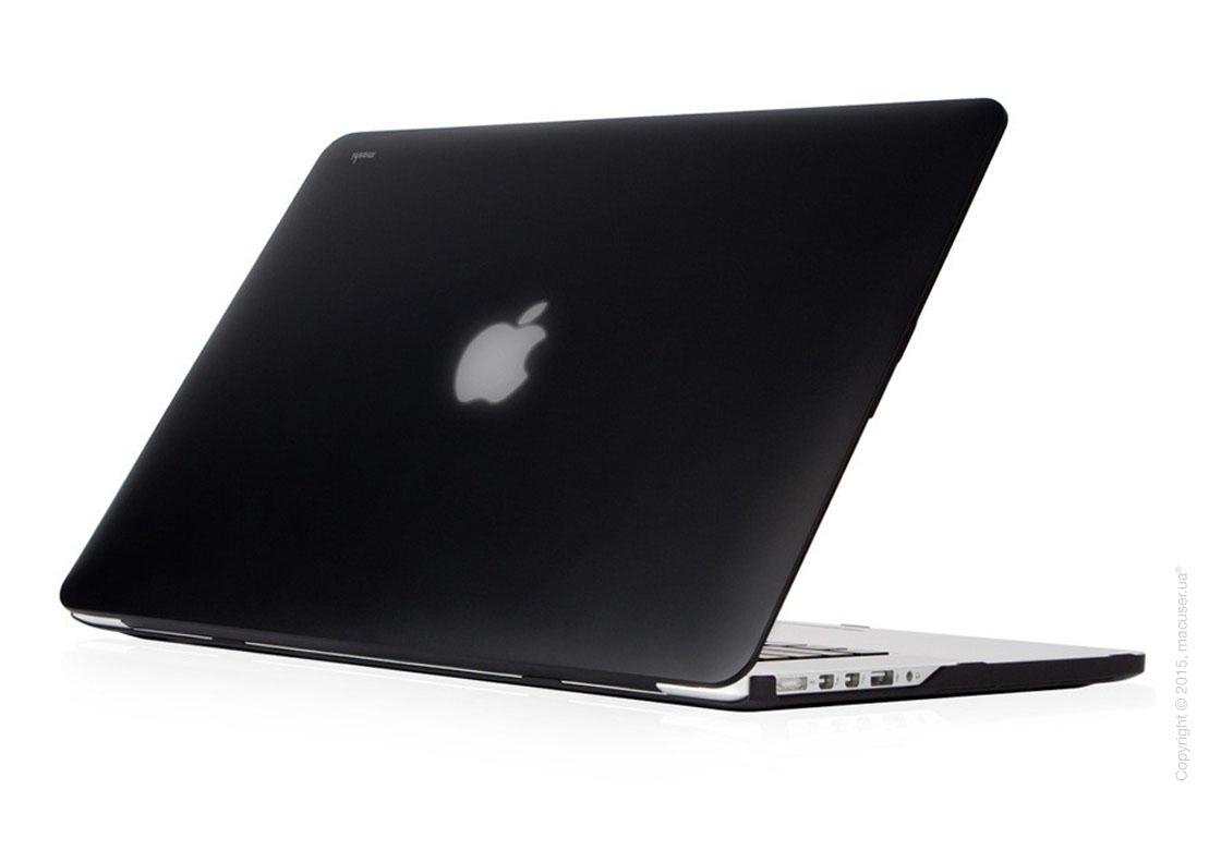 Чехол-накладка Moshi Ultra Slim Case iGlaze Stealth Black (V2) для MacBook Pro 15