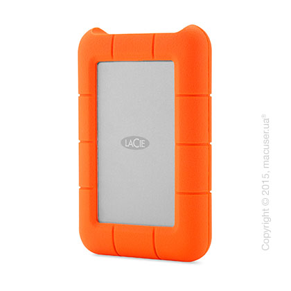 Внешний жёсткий диск LaCie 250GB SSD Rugged Thunderbolt/USB 3.0 Drive