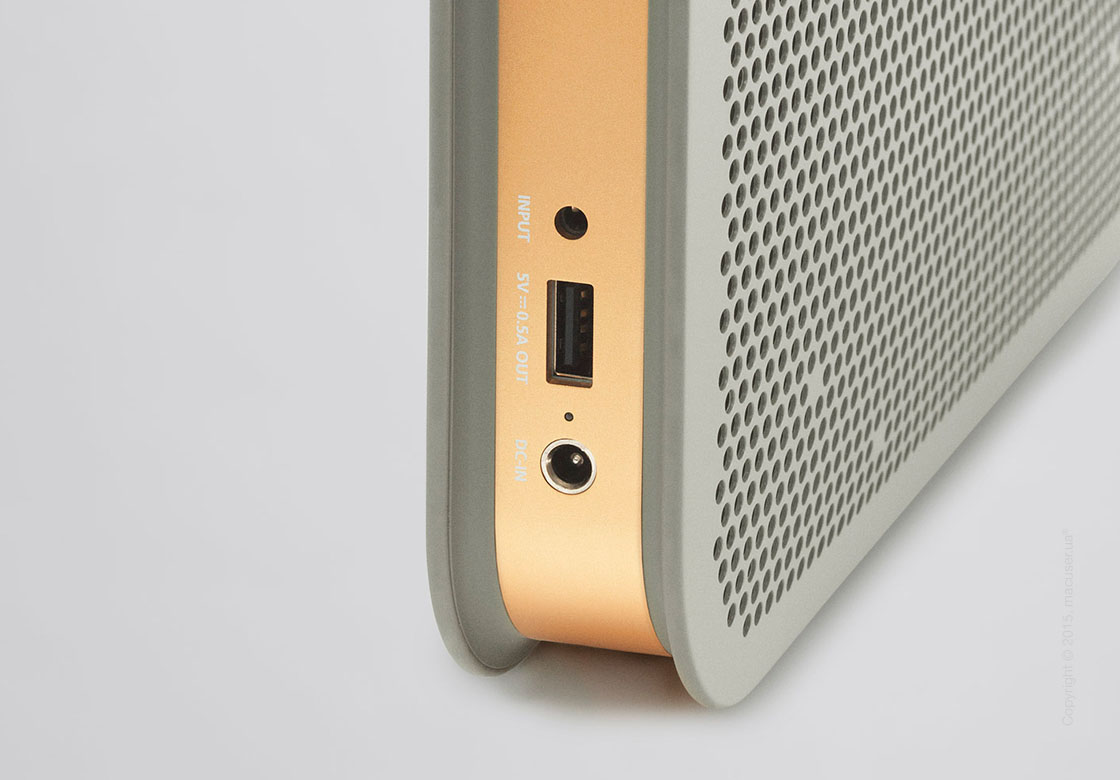 Мультимедийная акустика Bang&Olufsen BeoPlay A2, Gray