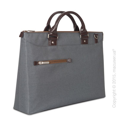 Сумка Moshi Urbana Slim Laptop Briefcase Mineral Gray