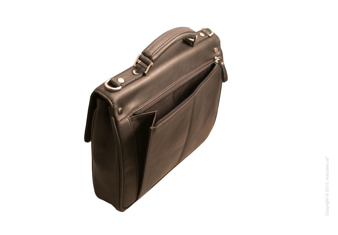 Сумка Dublon Leatherworks JB Classic Black 11.6