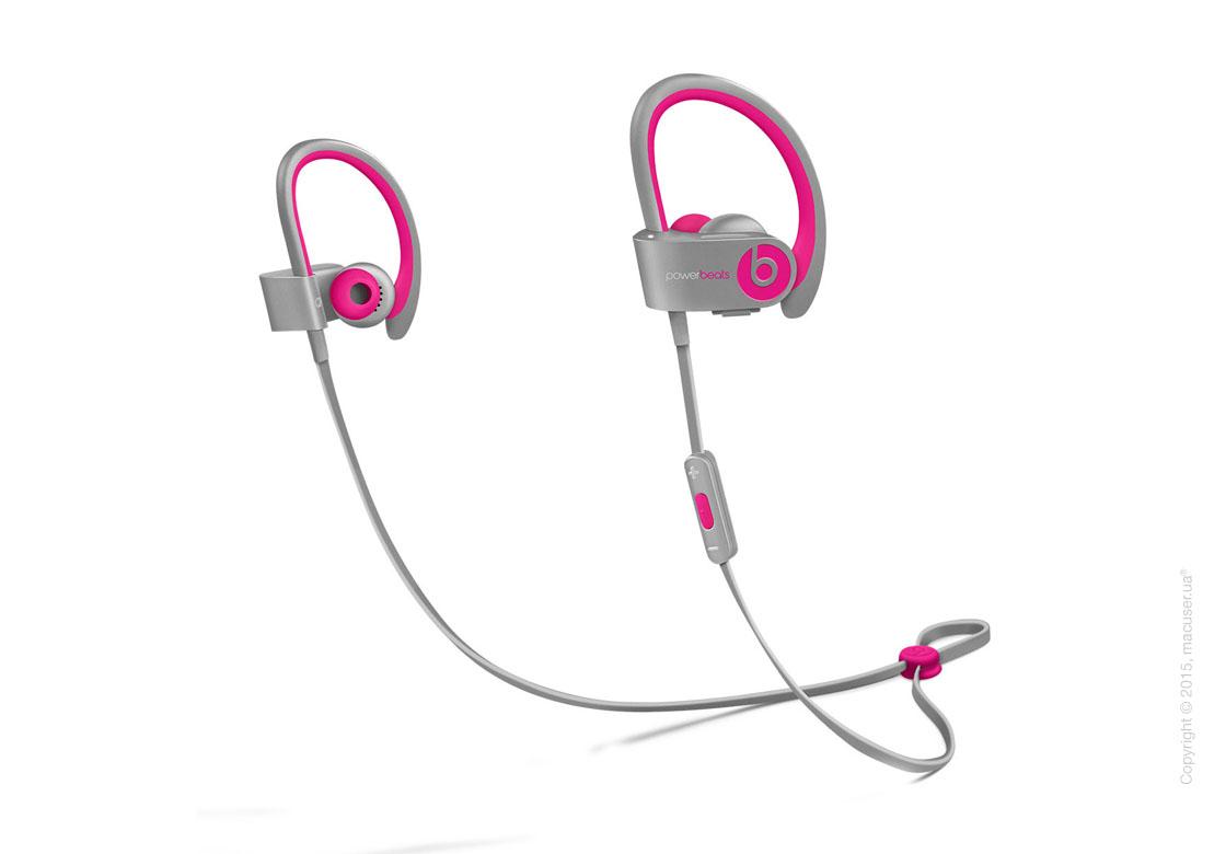 Спортивные наушники Beats Powerbeats 2 Wireless, Pink/Grey