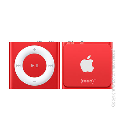 Apple iPod shuffle 2GB, (PRODUCT)RED
