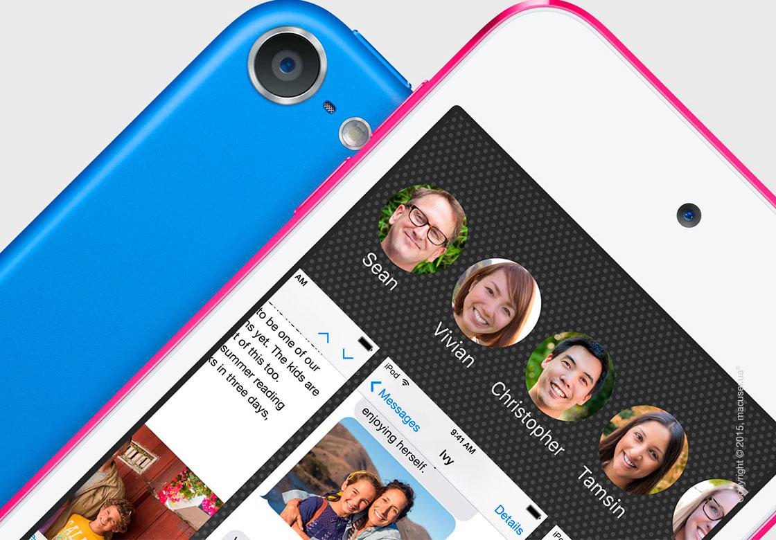 Apple iPod touch 6gen 16GB, Blue