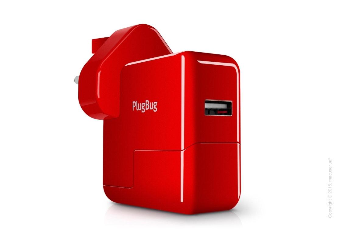 Зарядное устройство Twelve south PlugBug World White/Red для iPhone/iPod/iPad mini/iPad/MacBook