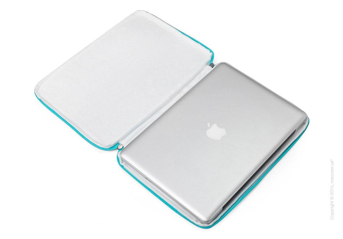 "Чехол-конверт Runetz Soft Fabric Sleeve, Teal для MacBook Air/ Pro 13"" (Retina)"