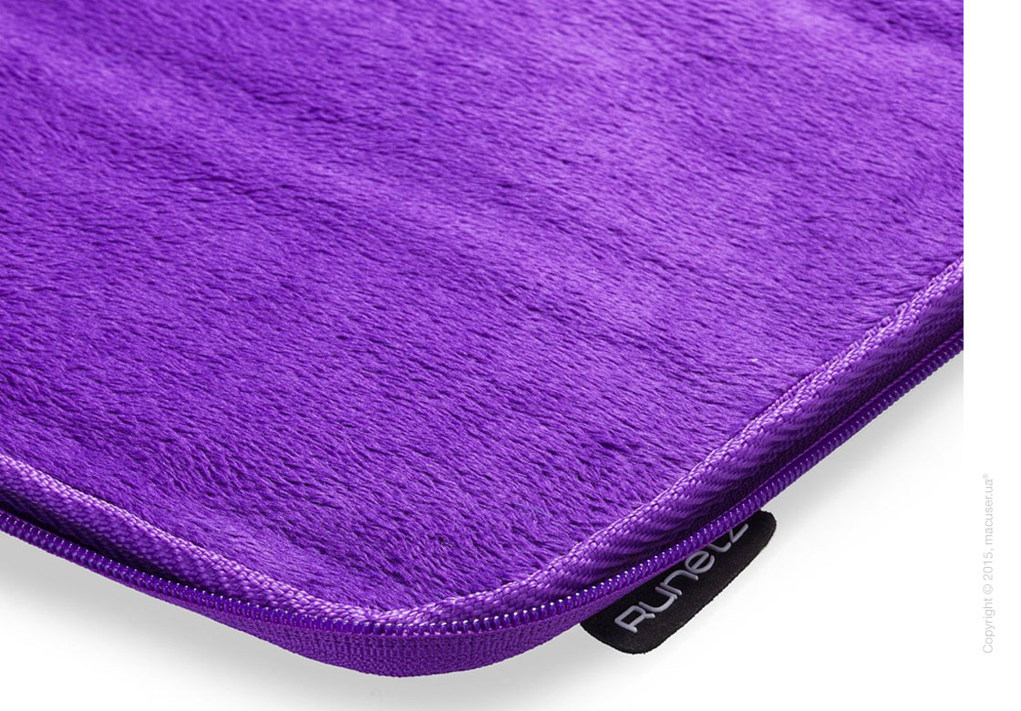 "Чехол-конверт Runetz Soft Fabric Sleeve, Purple для MacBook Pro 15"" (Retina)"