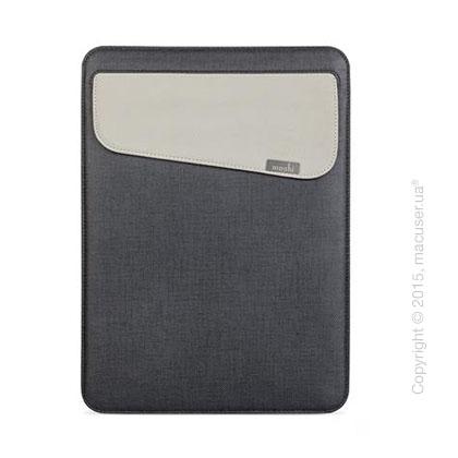 Чехол Moshi Muse Microfiber Sleeve Case Graphite Black для MacBook 12