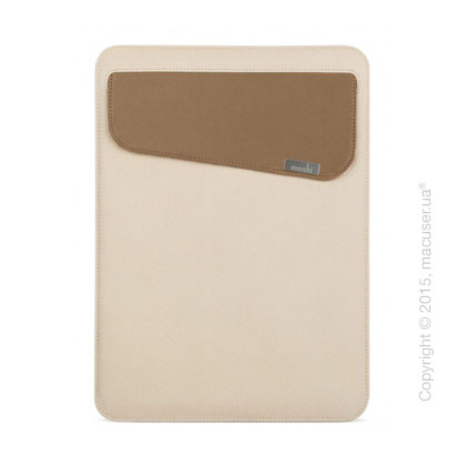 Чехол Moshi Muse Microfiber Sleeve Case Sahara Beige для MacBook 12