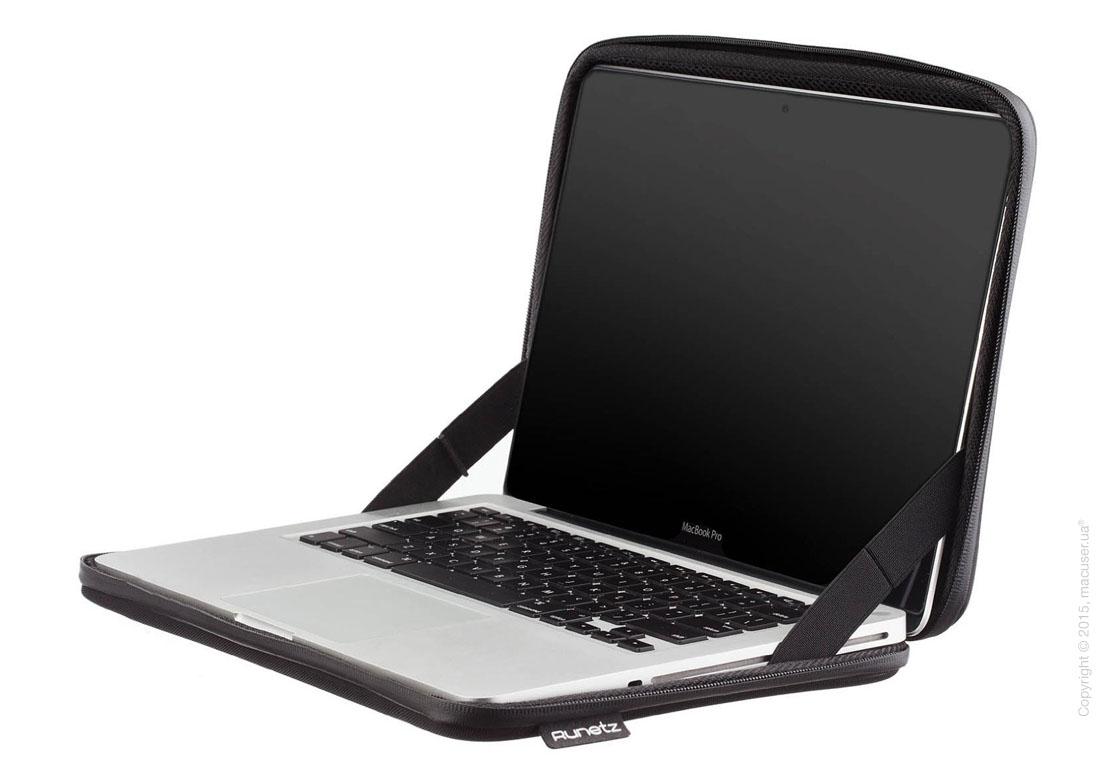 "Чехол-конверт Runetz Hard Fabric Sleeve, Black для MacBook Pro 15"" (Retina)"