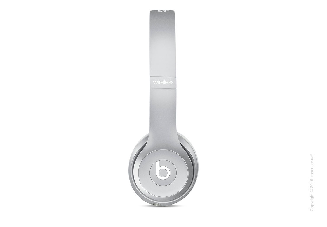 Наушники Beats Solo2 Wireless On-Ear Headphones, Silver