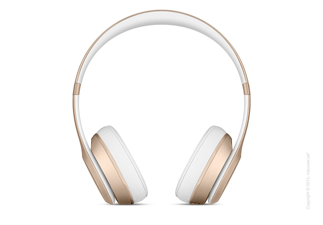 Наушники Beats Solo2 Wireless On-Ear Headphones, Gold