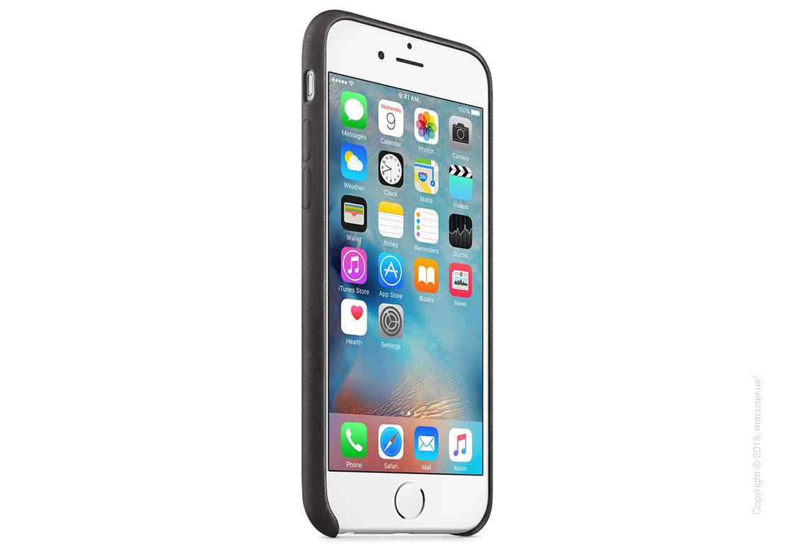 Чехол Apple iPhone 6/6s Leather Case, Black