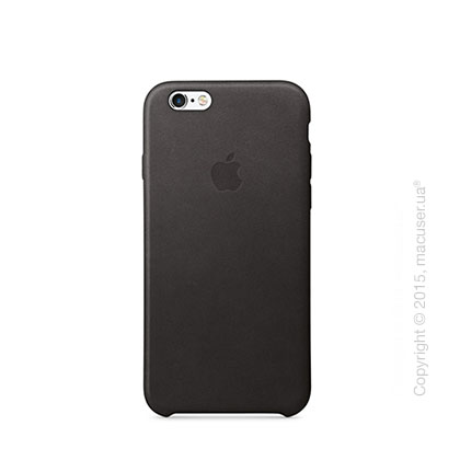 Чехол Apple iPhone 6/6s Leather Case, Black
