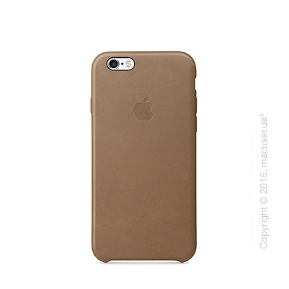 Чехол Apple iPhone 6/6s Leather Case, Brown