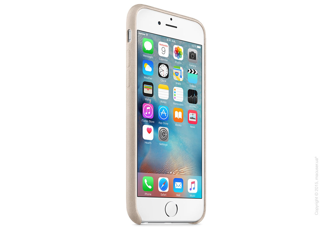 Чехол Apple iPhone 6/6s Leather Case, Rose Gray