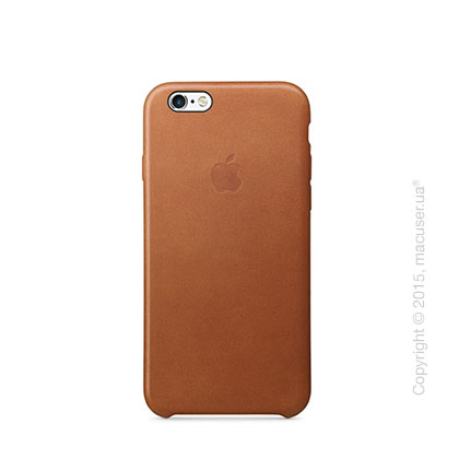 Чехол Apple iPhone 6/6s Leather Case, Saddle Brown