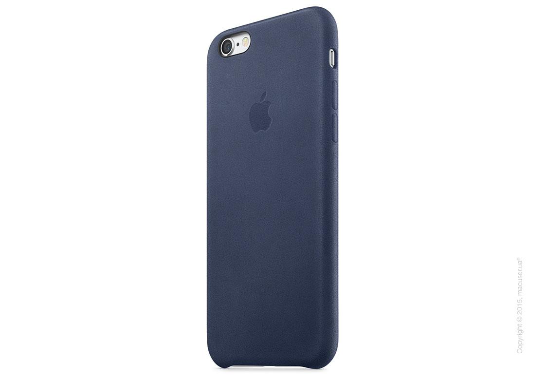 Чехол Apple iPhone 6/6s Leather Case, Midnight Blue