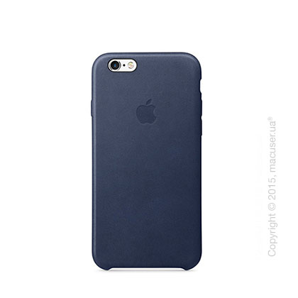 Чехол Apple iPhone 6/6s Leather Case, Midnight Blue