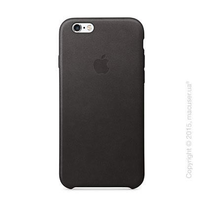 Чехол Apple iPhone 6/6s Plus Leather Case, Black