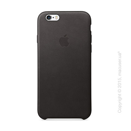 Чехол Apple iPhone 6/6s Plus Leather Case, Black