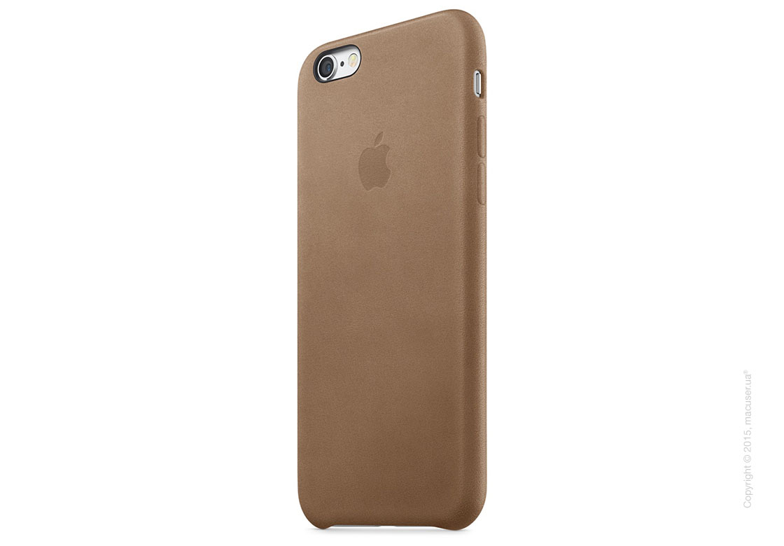 Чехол Apple iPhone 6/6s Plus Leather Case, Brown