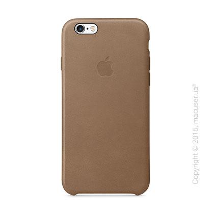 Чехол Apple iPhone 6/6s Plus Leather Case, Brown