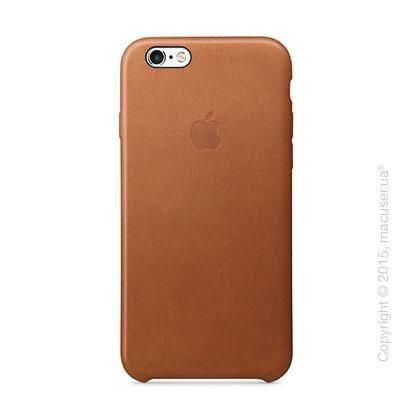 Чехол Apple iPhone 6/6s Plus Leather Case, Saddle Brown