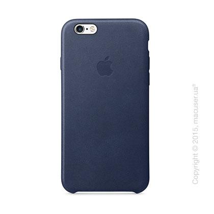 Чехол Apple iPhone 6/6s Plus Leather Case, Midnight Blue