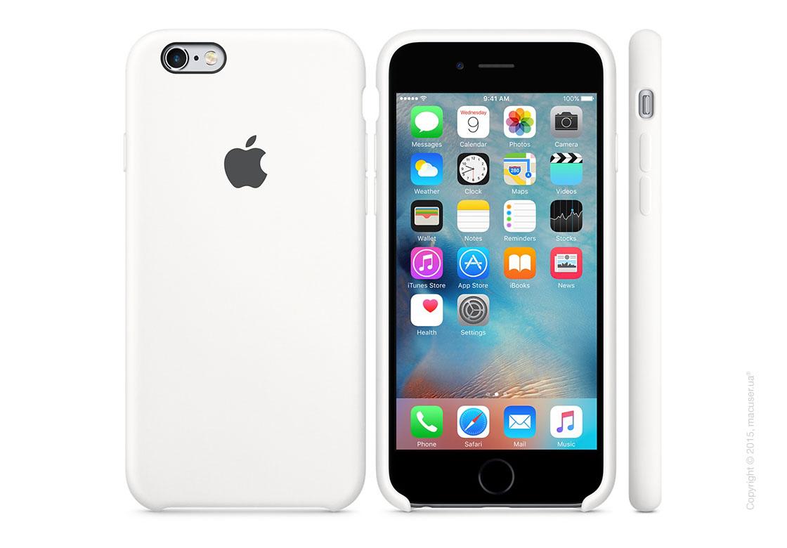 Чехол Apple iPhone 6/6s Silicone Case, White