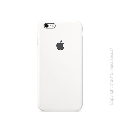 Чехол Apple iPhone 6/6s Silicone Case, White