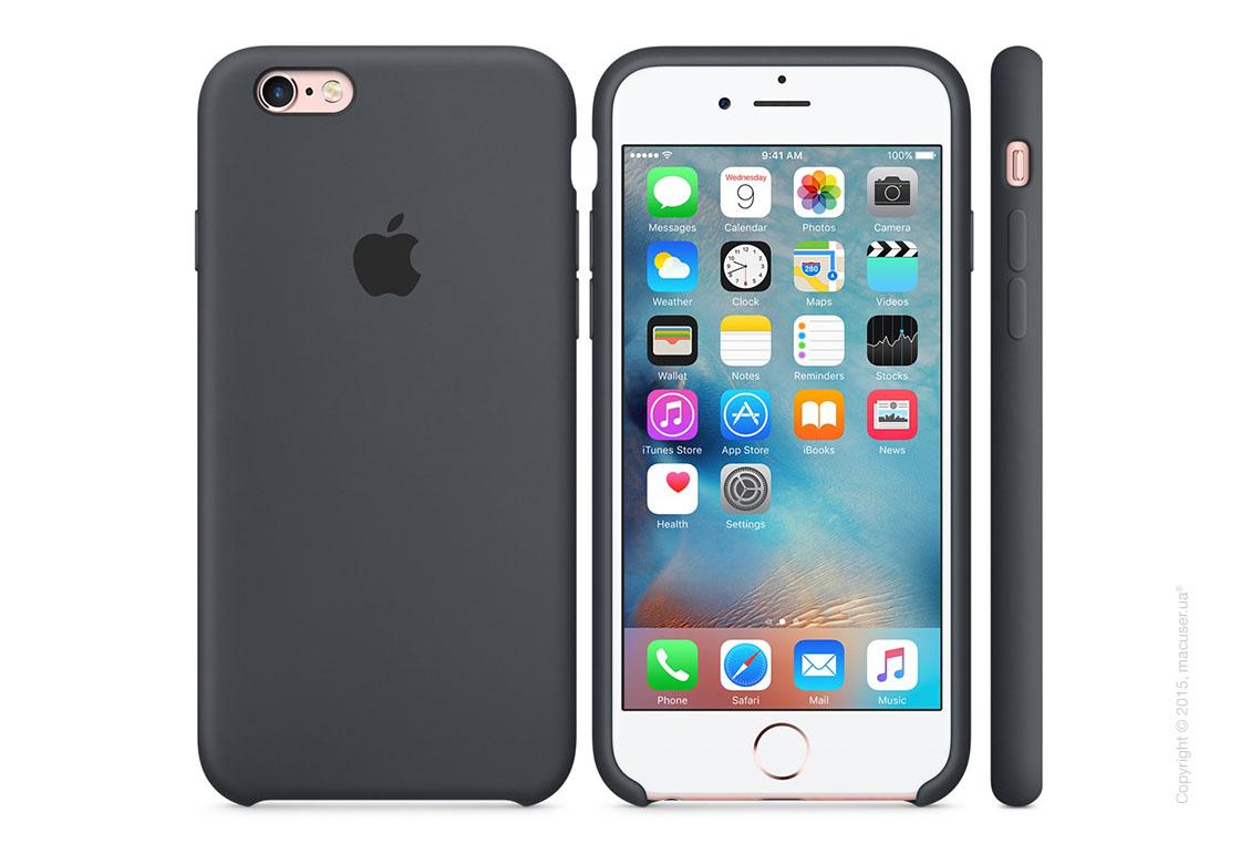Чехол Apple iPhone 6/6s Silicone Case, Charcoal Gray