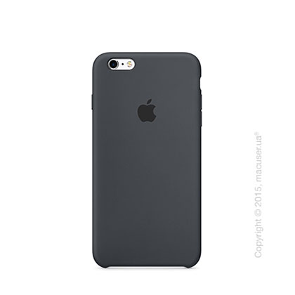 Чехол Apple iPhone 6/6s Silicone Case, Charcoal Gray
