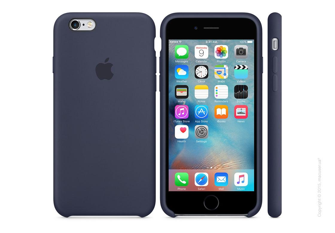 Чехол Apple iPhone 6/6s Silicone Case, Midnight Blue