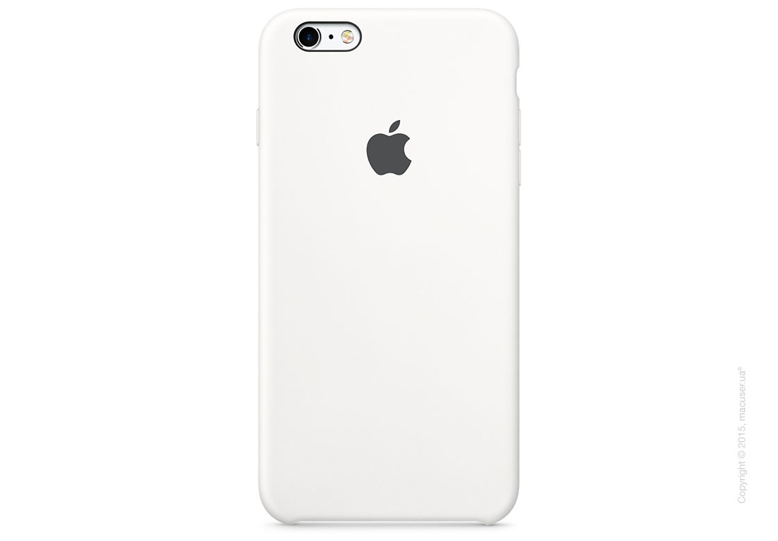 Чехол Apple iPhone 6/6s Plus Silicone Case, White