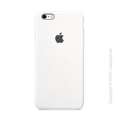 Чехол Apple iPhone 6/6s Plus Silicone Case, White