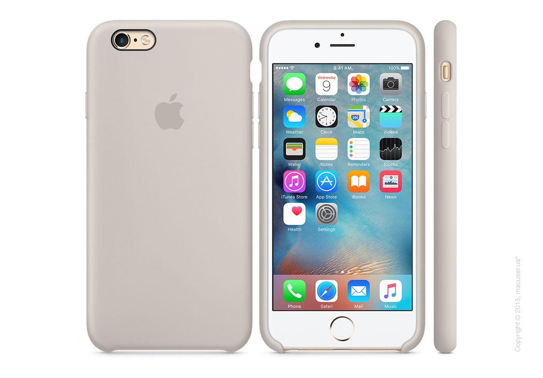 Чехол Apple iPhone 6/6s Plus Silicone Case, Stone