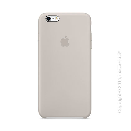 Чехол Apple iPhone 6/6s Plus Silicone Case, Stone