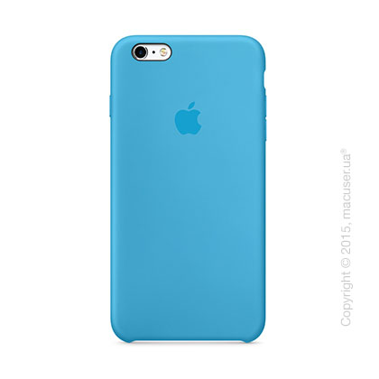 Чехол Apple iPhone 6/6s Plus Silicone Case, Blue