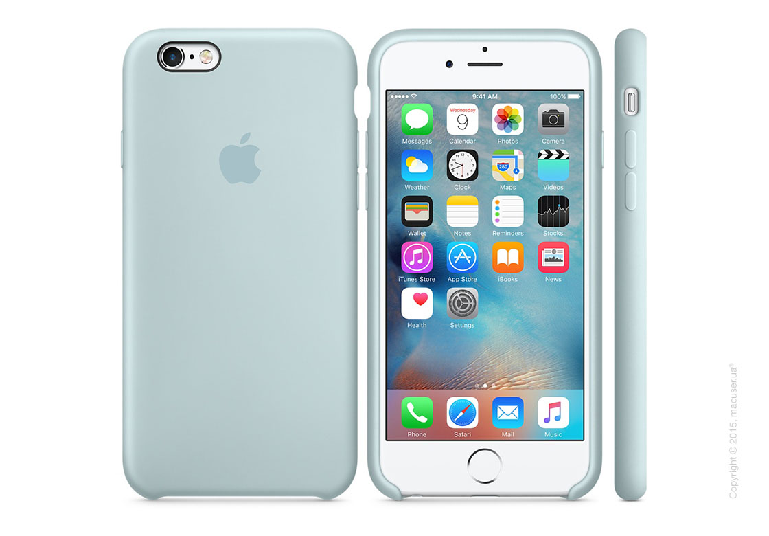 Чехол Apple iPhone 6/6s Plus Silicone Case, Turquoise