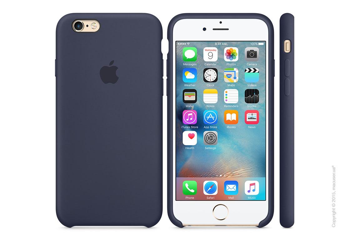 Чехол Apple iPhone 6/6s Plus Silicone Case, Midnight Blue