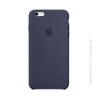 Чехол Apple iPhone 6/6s Plus Silicone Case, Midnight Blue